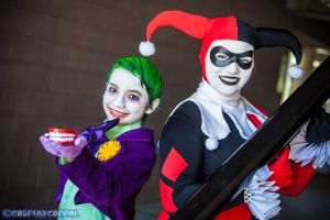 Joker Jr. and Harley Quinn 17 by Lady-Ha-ha