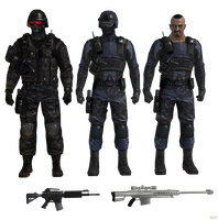 Mortal Kombat X: Special Forces Soliders. by OGLoc069