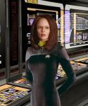 Fleet Chief Engineer B'elanna Torres by Elephant883