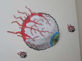 Eye Of Cthulu paper craft by zorberema