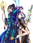 Jordan and Melusine by AldorleaGames