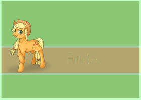 Applejack by CrisisDragonfly
