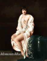 Ziegfeld girl Marietta O Brien by M3ment0M0ri