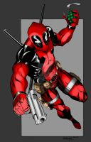 Deadpool Colors by LarsonJamesART