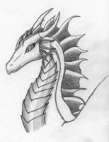 Dragon OC - Malra by FirionRoseII