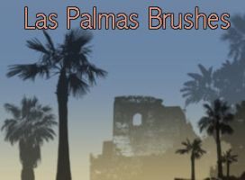 Las Palmas Brushes by Globaludodesign