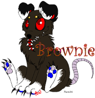 Brownie -i move- by hammer-Cat