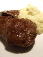 Steak of Deer and Celery puree by PhilipCapet