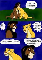 Kovu in trouble by GreatMarta
