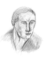 Portrait Using Andrew Loomis Technique by NathanMac