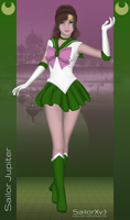 SailorXv3.07.01 - SAILOR JUPITER by SailorXv3