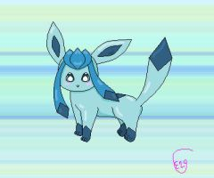 Glaceon by Espeon2Glaceon