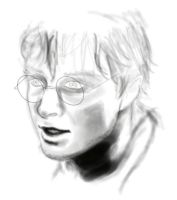 Harry Potter progess sketch by secretSWC
