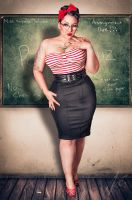 Classroom Pin Up by keroseneDeluxe