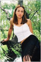 Mel in tree 2 by wildplaces