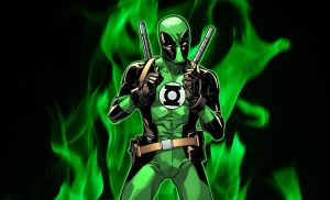 Deadpool Green Lantern by XxDan-The-ManxX