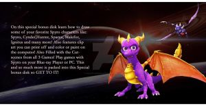 Spyro The Dragon Insert 12 by Violent-Dimensions