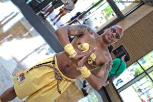 ConnectiCon 2014 - Dhalsim by VideoGameStupid