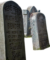 Tombstones download-no bkg by WDWParksGal-Stock