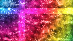 Rainbow Love PS3 wallpaper by ParadiseLost589