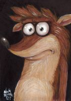 Rigby of Regular Show Fame by Phraggle