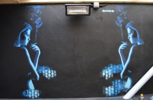 Recent stencil i painted by kone1972