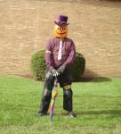 Gourdon Pumpkinhead Before the Parade 1 by Windthin