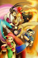 SuperStreetFighterIV by MarshmallowMog