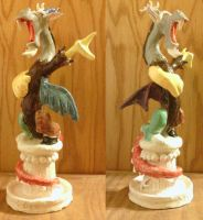 Statue of Discord (Final) by Dalekolt