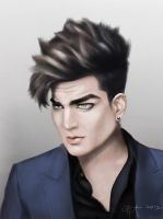 Adam Lambert by Artiefacts