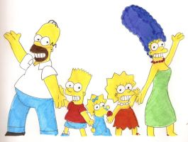 The Simpsons Family by Locke831