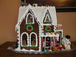 Ginger Bread House by alrach