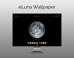 eLuna Wallpaper by moonwatcher2k1 by moonwatcher2k1