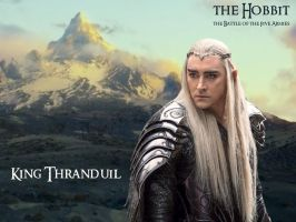 King Thranduil - The Battle of the Five Armies by Menkhar