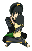 Day 152: Toph and Lin Recolor by KnightLuna