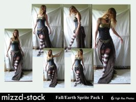 Fall+Earth Sprite Pack 1 by mizzd-stock