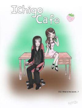 Ichigo cafe Portada Ch2 What is the secret...? by grisarayas-x3