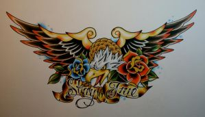 Eagle Chest Piece by itchysack