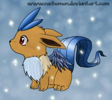 Mixed Breed Eevee + Articuno by Cachomon