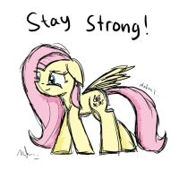 Stay Strong by Nadaazahraa