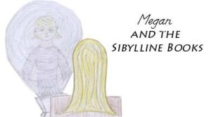 Megan and the Sibylline Books cover by MissMartian4ever