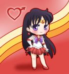 Sailor Mars by drewbiedooah
