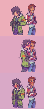 Wearing your bf's jacket by Lavender-Dreamer