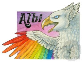 Albi Badge by KatieHofgard