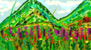 Valley of Blooms by Dreamydeb