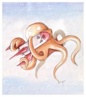 OctoBomb by frowzivitch