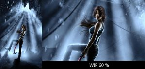 WIP PREVIEW: Lara Reborn Contest Entry 2 by Eddy-Shinjuku