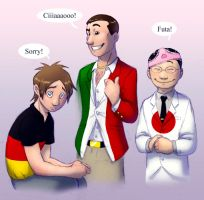Axis Powers after the War by humon