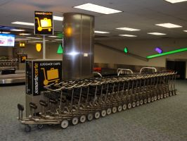 That's a LOT of Luggage Carts by DreamsWithinMe