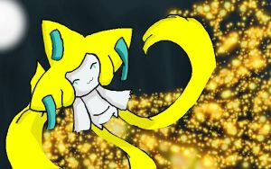 Jirachi brought those stars you make wishes on by ForTheLoveOfWalrus